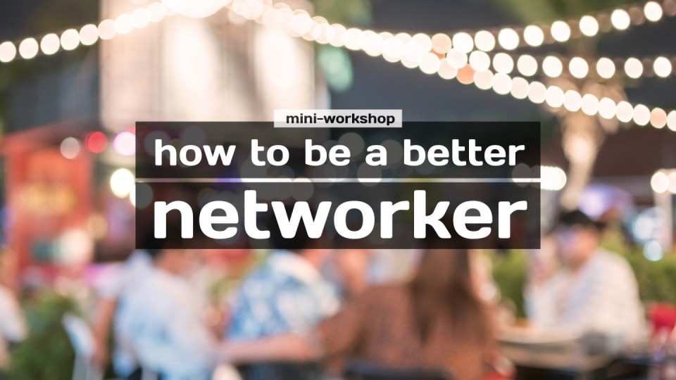 W9 — Thomson — How to Be a Better Networker